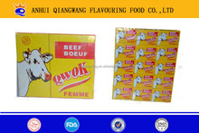 10G/CUBE*60*12 HALAL BEEF VEGETABLE CHICKEN ONION/CREVETTE COOKING CUBE SEASONING CUBE BOUILLON SEASONING CUBE