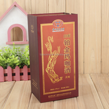 corrugated cardboard luxury wine packing box