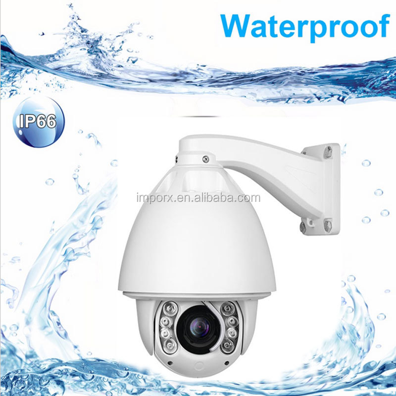 1080p 20X zoom Auto tracking ptz ip camera with wiper ONVIF high speed dome ip camera waterproof camera support SD card