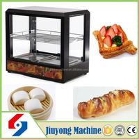 world famous automatic glass food warmer display showcase