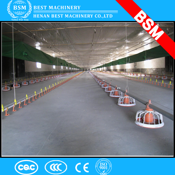Ground floor rearing equipment nipple pvc chicken watering system