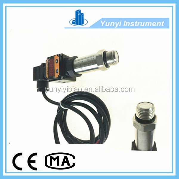 flush diaphragm type pressure transmitter with digital