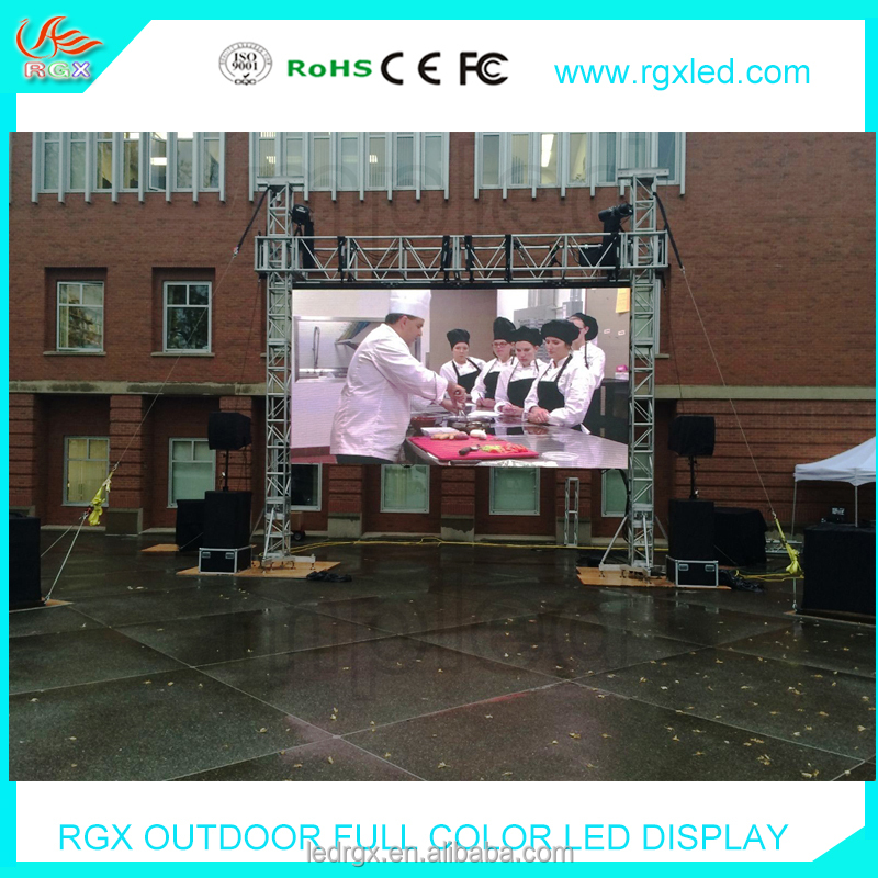 Shenzhen RGX LED P4 P4.81 P5 P6 HD outdoor led Screen Rental, Mobile LED Screens, Big Screen hire