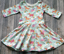 High quality little girls dresses fashion dresses for 2-8 years girl wholesale smocked clothes