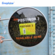 Guangdong factory custom outdoor advertising wall mounted 3d round led lightbox