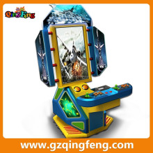Qingfeng high definition 2 player fighting games video poker machine