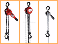 Credit Checked Chain Type Construction Hoist with Trolly