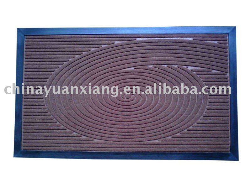 Anti-slip cobble stone mat