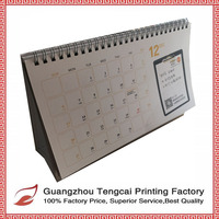 Custom printing 2016 desk calendar wholesale