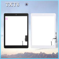 spare parts for ipad air,for ipad 5 touch screen glass completed wth home button Accept Paypal