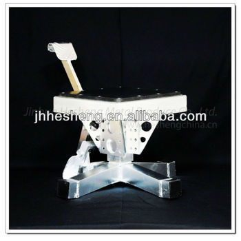 Good market adjustable manual motorcycles lifts HS-ML2
