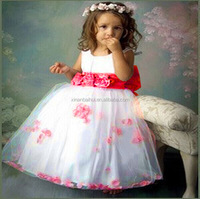 Lovely Baby Dress Designs Flower Girl Party Dresses cute baby Bridesmaid gowns for 3 years kids