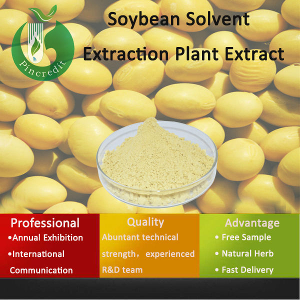 Nature Soybean Extract /40% Soy Isoflavones Soybean Extract/Soybean Solvent Extraction Plant Extract