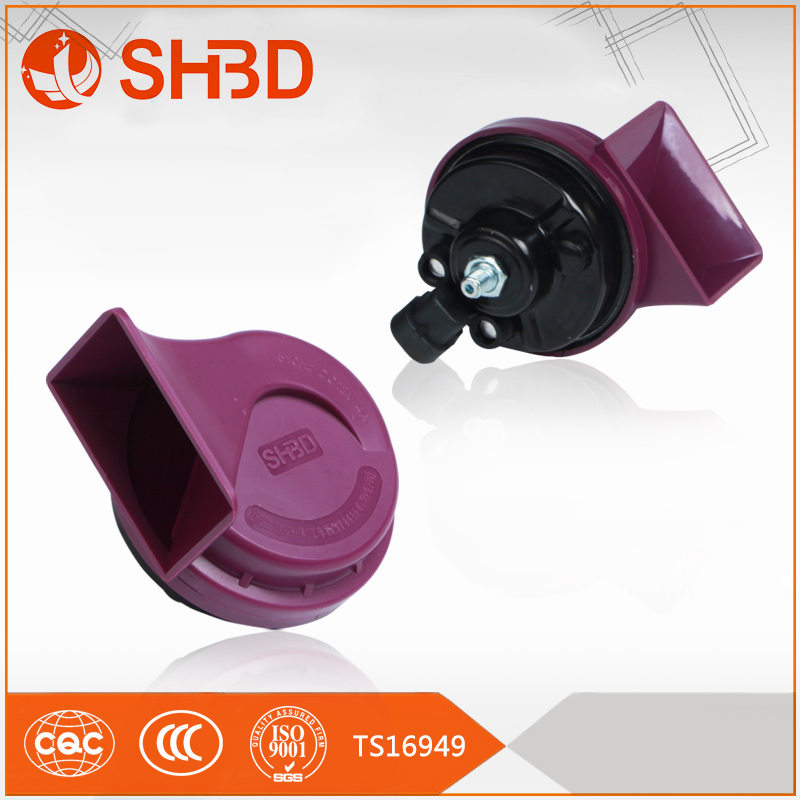 SHBD 2017 best selling Car horn 12v car accessory for auto disc horn