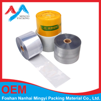 POF/PET/PE/PVC heat shrink film /clear heat shrink plastic filmin roll