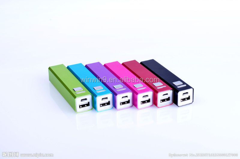 alloy 2600 mah portable power bank 2600mah latest design 2600mah power bank
