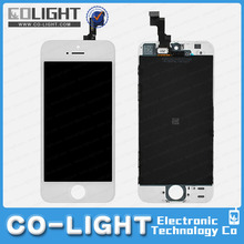 Big promotion ! Alibaba hot selling black/white color lcd display+touch screen digitizer for iphone 5 in USA