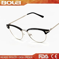 Wholesale 2015 Half Frame New Prouduct Italian Eyewear Optical Frame
