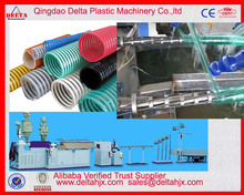 Plastic PVC suction transport pipe duct production line PVC spiral soft flexible hose pipe extrusion machine