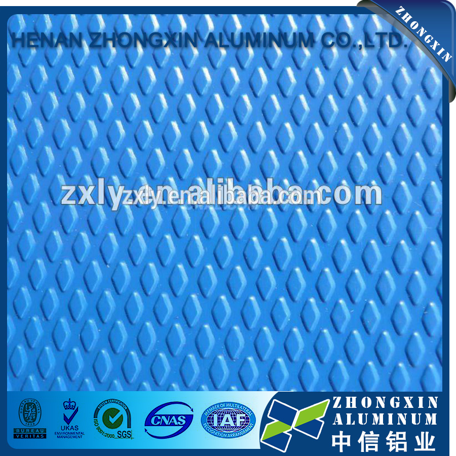dc cc 1060 Aluminum Diamond Plate Colored