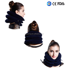 (full flannel)Neck cervical therapy equipment pneumatic cervical collar Cervical traction device made in china