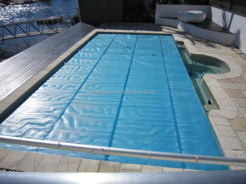 Top Quality Thermal Bubble Swimming Pool Cover With Pool Cover Reel Buy Pool Cover Reel Bubble