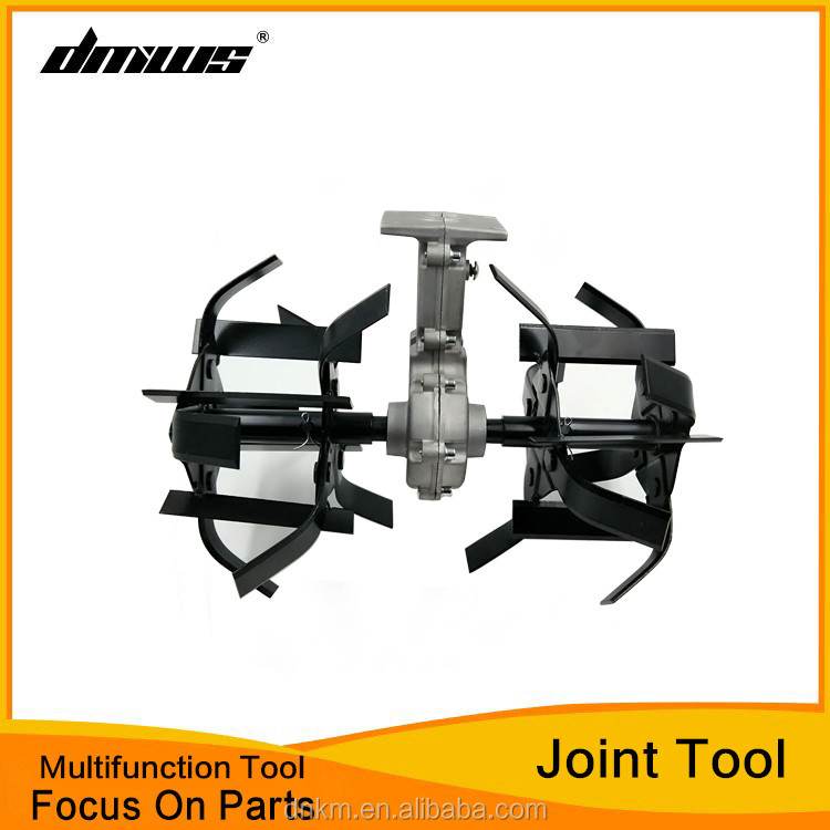 Mini Rotary-Tiller Cultivator/Multi-function Machine Loose Soil/Cut Grass Tool Head