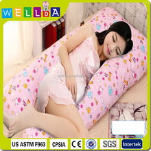 2015 Christmas new design cute body pillow for pregnancy