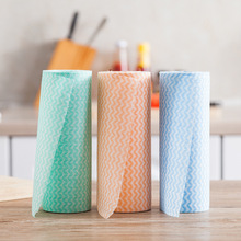 Disposable Spunlace Nonwoven Fabric Roll Household Cleaning Wipes