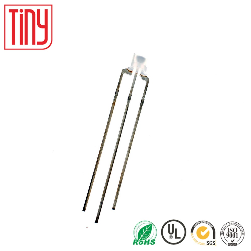 new original F3 3mm 3pin common anode led