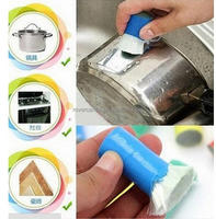 Mini Metal Rust Remover Cleaning Brush Practical Pot Rust Brush