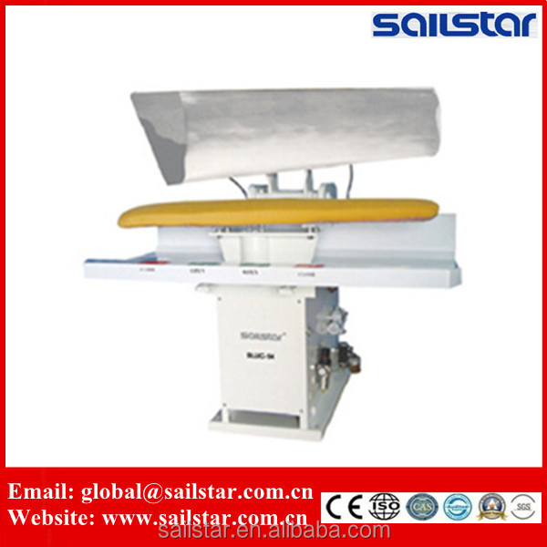 Universal linen laundry iron press machine for clothes