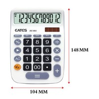 Promotion Gifts 12 Digits Mini Pocket General Purpose Calculator Two-way Power Large Display Desktop Calculator