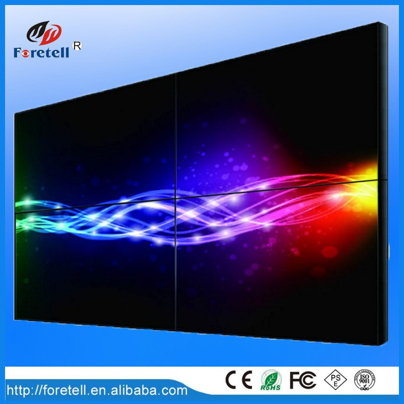 China Digital display lcd video wall 1920x1080 LED backlight Samsung lcd video wal screen