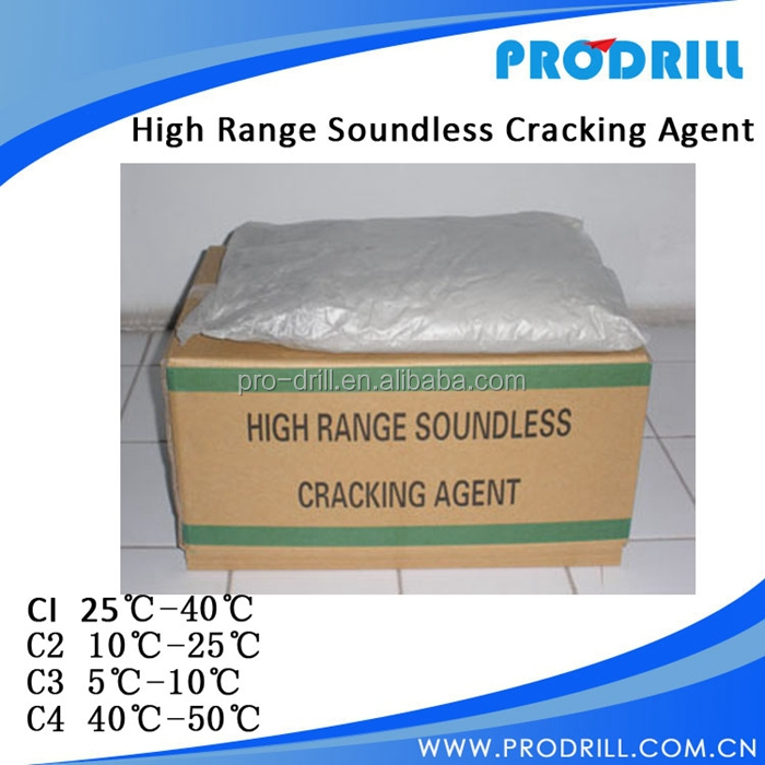 Soundless Cracking Agent for stone demoliton
