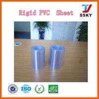ISO and SGS sheet/board 0.2mm plastic rigid white sheet pvc board for photobook