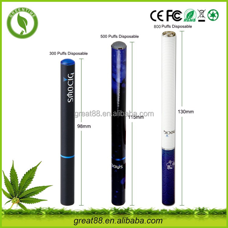 Greentime china products 280mah eliquid e hookah 500 puffs with 10 different flavor