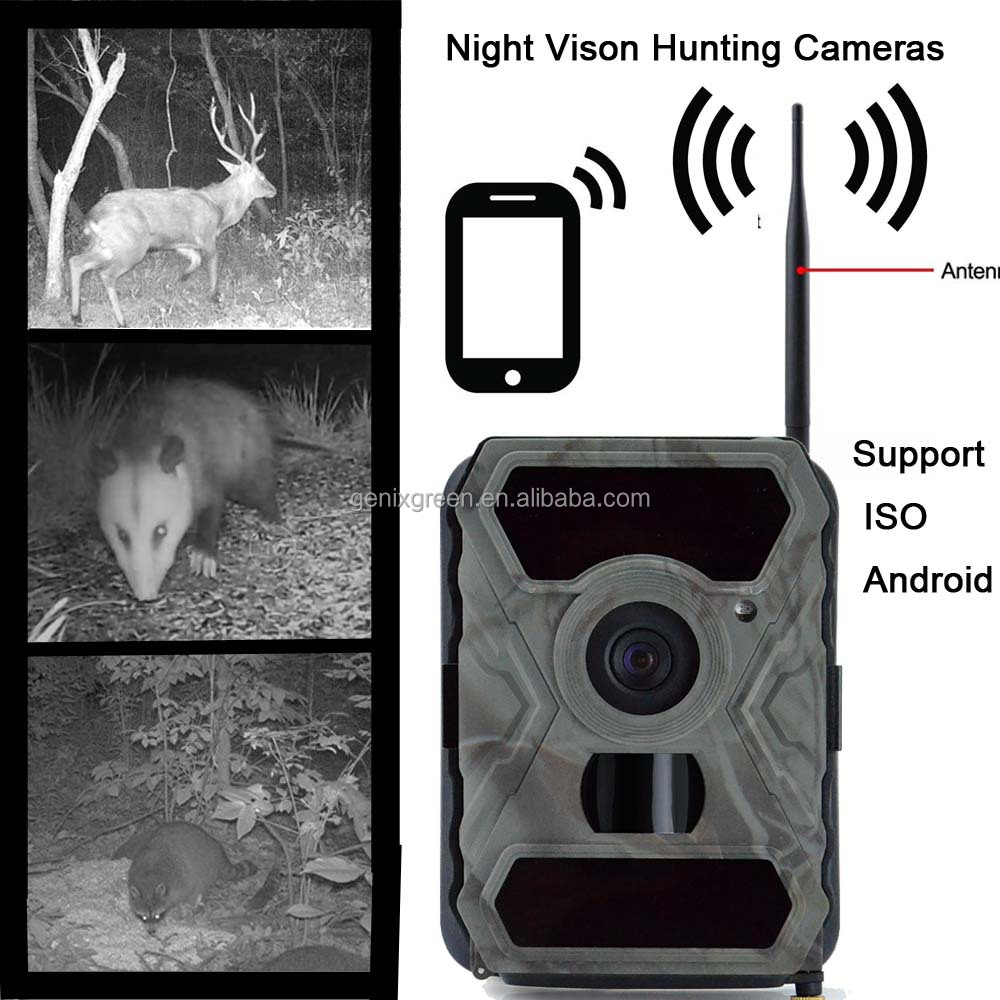 12MP 1080P HD Mini Waterproof Trail & Game Camera 120 Wide Angle Low Glow Infrared Night Vision Trail Camera gprs