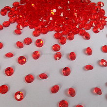 For Wedding Decoration UK Marketing Best Selling Clear 4mm Diamonds Shape With Pointed Bottoms Acrylic Diamond