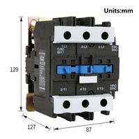 Ac Contactor Magnetic Electrical Overload Relay