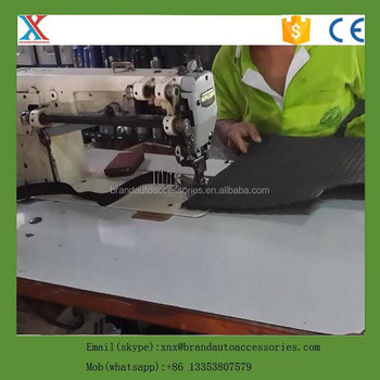 XL-6620 double needle car mat thick thread sewing machine CE certificate
