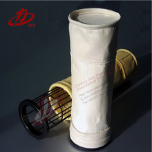 Acrylic filter bag for dust collector