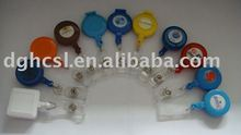 retractable badge holder with nylon cord length at 60cm