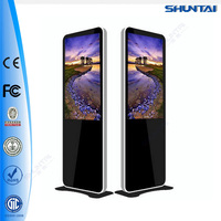 42 Inch Store LCD Media 1080P Network Advertising Equipment