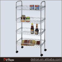 NSF wire kitchen stainless steel shelves