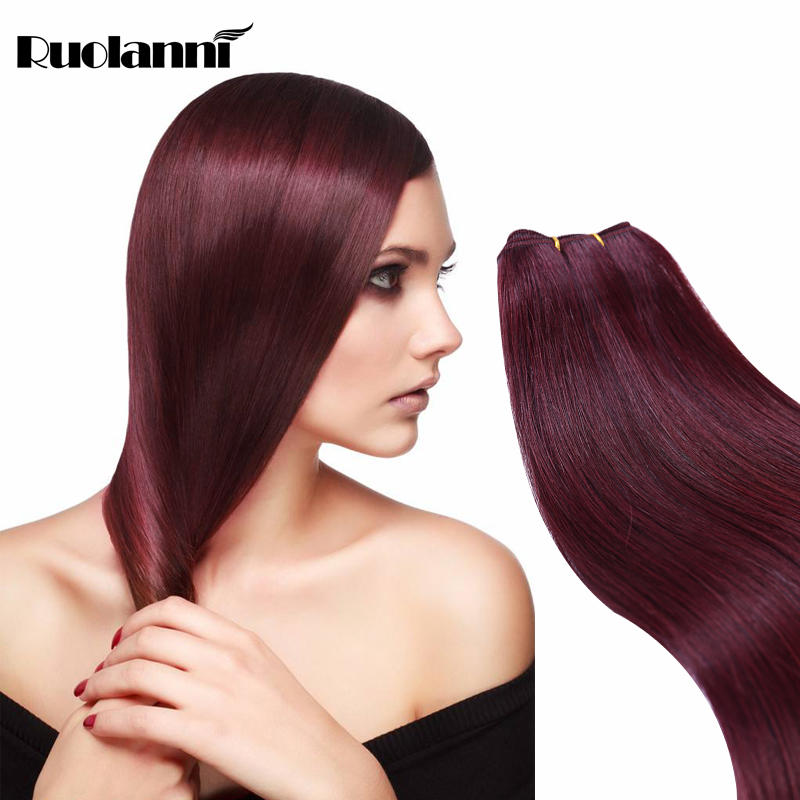 Machine weft natural color full cuticle human hair
