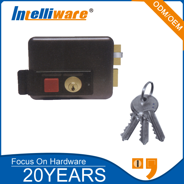 Professional Electronic Rim Lock For Gate Door