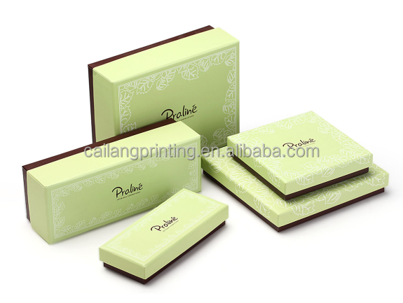 lid and paper base Boxes corrugated cardboard lid and colorful base to customer specification 2 pieces box