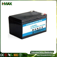 golf cart lithium battery charger 12v 20ah rechargeable lifepo4 battery pack