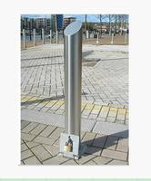 Arlau Outdoor Removable Stainless Steel Security Bollard,Road Traffic Bollard
